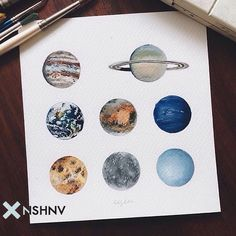 provocative-planet-pics-please.tumblr.com Планеты by @artcrop #art #drawing #illustration #planets #space #арт #рисунок #иллюстрация #планеты #космос #nshnv by themodart https://www.instagram.com/p/_GjGwpRk-B/