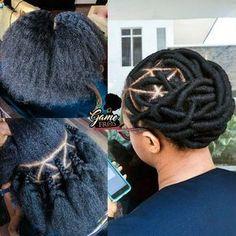 American and African Hair Braiding : Tresses avec laine - Beauty Haircut Black Girl Braids, Braids For Black Hair, Girls Braids, African Braids Hairstyles, Twist Hairstyles, Protective Hairstyles, African Threading, Hair Threading, Natural Hair Braids