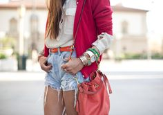 shorts+red