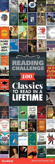 Check out this list of classic books to read in your lifetime, including some of the best timeless literature. If you're looking for reading challenge ideas, this is the list for you! I read almost all of these!