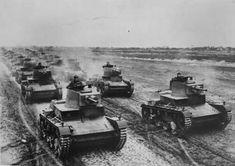 7TP Polish light tanks pre -WW II