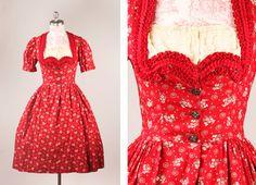 Vintage Dirndl dress |  [S♥]