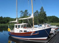 Fisher 25, the most wonderful little yacht ever. http://fisheryachts.com/fisher_25/