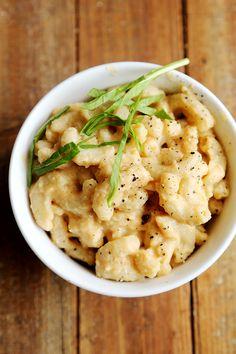 Vegan Mac and Cheese with Creamy Cauliflower Sauce