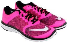 Nike Women's Fs Lite Run 3 Print W Pink Blast/White/Black Ankle-High Mesh Running Shoe - 8.5M