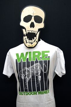 Wire - Outdoor Miner - T-Shirt | British punk and Post punk