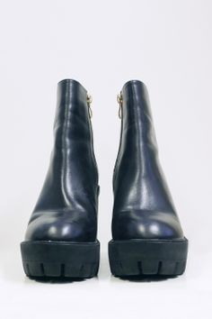 Leather Tread Boot Black http://www.thewhitepepper.com/collections/shoes/products/leather-tread-boot-black