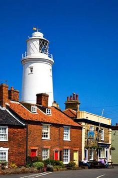 The Lighthouse at Southwold Suffolk England by barbra
