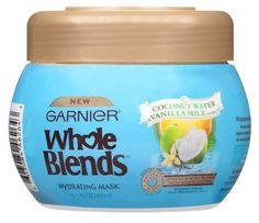 Garnier Whole Blends Mask Coconut Water/Vanilla 10.1 Ounce (300ml) (3 Pack) >>> Details can be found by clicking on the image.