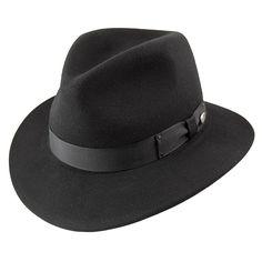 b753c338294 Bailey Hats Curtis Crushable Fedora - Black - Classic