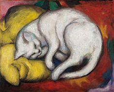 Franz Marc, Die weiße Katze