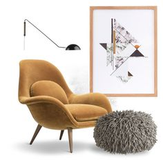 A Home Decor Collage From December 2016 Featuring Handmade Furniture,  Outdoor Light And Abstract Wall Art.