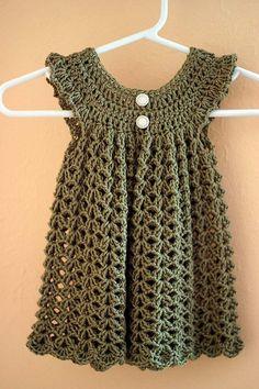 DIY Crotchet baby dress