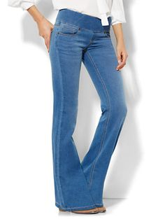 44d61fa0ecf Shop Soho Jeans - Pull-On Bootcut - Waterfall Blue Wash . Find your perfect