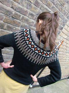 Icelandic Yoke Sweater by kaby, via Flickr