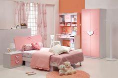 Warna cat kamar tidur anak perempuan yang sesuai dengan warna yang paling diskainya.