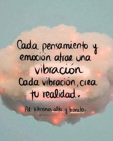 "12.6 mil Me gusta, 49 comentarios - Priscila Castro ® (@priscilacastrojara) en Instagram: "". ⚡️M I E R C O L E S ⚡️ ⠀ .💛Nuestra vibración crea nuestra realidad. Aunque creamos que somos…"" Positive Phrases, Positive Affirmations, Positive Quotes, Inspirational Phrases, Motivational Phrases, Positive Mind, Positive Thoughts, Apology Quotes For Him, Be Present Quotes"