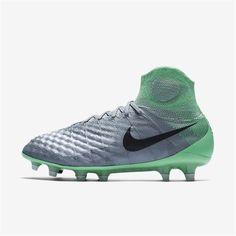 95dc7abccf18 Nike Magista Obra II FG (Wolf Grey / Electro Green / Purple Dynasty) Nike