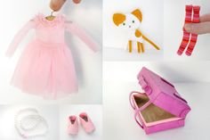 all these cute accesories are amazing... any doll would be so happy to have these! :D     by Takiyaje dolls