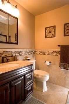 small bathroom - Tile Walls In Bathroom
