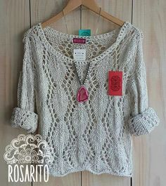 New crochet poncho lace yarns 67 Ideas Crochet Poncho, Lace Knitting, Knitting Stitches, Easy Knitting Patterns, Crochet Clothes, Knitwear, Couture, Lana, Fashion