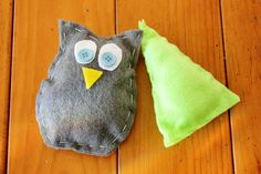 Kids My First Sewing Starter Craft Kit  - Makes 2 Shapes / Pillows, Owl & Tree on Etsy, $5.25