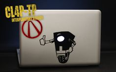 Clap Trap MacBook Sticker
