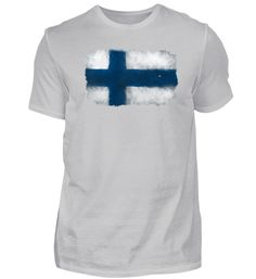 Suomi - Finnland T-Shirt Basic Shirts, Mens Tops, Fashion, Finland, Moda, Fashion Styles, Fashion Illustrations