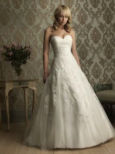 Andrea-Vestido de Noiva em tule - dresseshop.pt