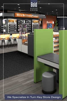 We create custom store designs at stock fixture pricing. We take your store floor plan, design a full color store rendering like the pin images. Then quote and manufacturer your unique store, it's easy! Drop us a email and we will get in contact with you. Visit our dedicated sites: bolddisplaycbd.com bolddisplayvape.com #storedesign #retailstoredesign #Vapestoredesign #instoredesign #storelayout #retailstoreinterior #wellnessstoredesign #storefixturedisplay #retaildesign #wirelessstor Vape Store Design, Retail Store Design, Store Layout, Store Fixtures, Plan Design, Floor Plans, Quote, Drop, Flooring
