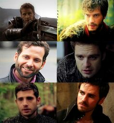 "Some of the men of ""Once upon a time"", that's right, we can handle it :) let's be save!!!"