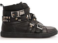 Hannah Leather Bianco Sneaker