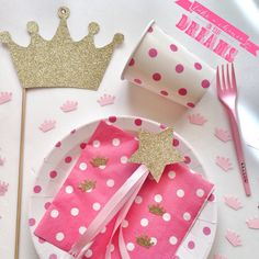 Prince & Princess diy party #partytude