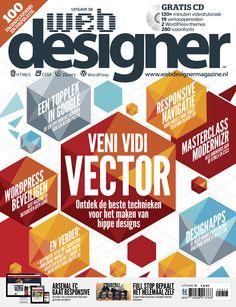 Hij is er: WebDesigner magazine 58! Over vectordesign, zoekmachine-optimalisatie en Modernizr. Op je tablet te lezen via #BrunaTablisto.