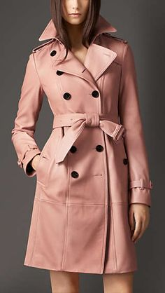 Deerskin Trench Coat