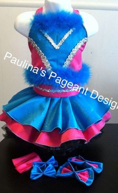 National Pageant Casual Wear Dress.  OOC. Size 18mos-3t #Handmade #DressyEverydayHoliday