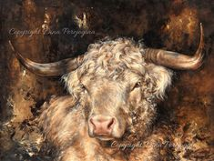"""Very Happy with a Scanning image 👏🥰✊ of *""""Golden Bull""""* New Limited Edition Hand Crafted Prints are on it's way in three sizes. Extra Large… Large Canvas Prints, Classical Art, Cattle, Cow, Fine Art, Crafts, Animals, Image, Happy"""