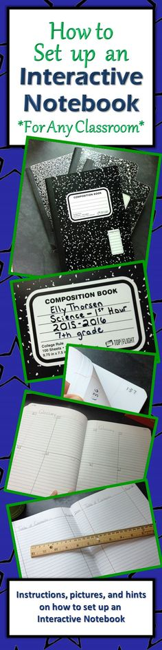 I've never done interactive notebooks. Detailed instructions and pictures on how to set up an interactive notebook in your classroom Science Classroom, Teaching Science, School Classroom, Classroom Ideas, Future Classroom, Interactive Student Notebooks, Science Notebooks, Interactive Books, Science Books