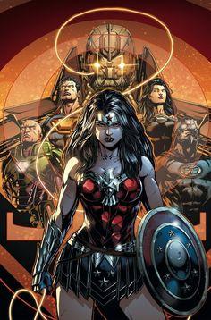 Liga de la Justicia (en inglés: Justice League of America o JLA), es un equipo de superhéroes de cómics conformado por los principales personajes d...