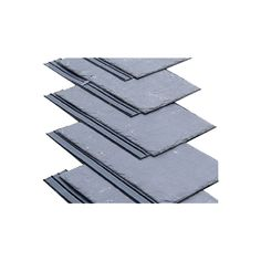 The patented Easy Slate is a 'side lap strip' that works by sealing the perp join on the slate and prevents the water from entering the layers of the slates. The Slate, It Works, Layers, Join, Easy, Layering, Nailed It