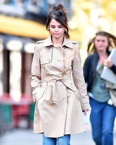 Fotos: Selena Gomez começa filmagens com Woody Allen