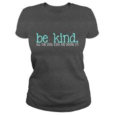 be kind t-shirt to promote school wide kindness. perfect for school counselors and teachers!