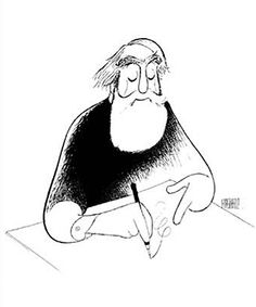 Self Portrait At 99 by Al Hirschfeld, Limited Edition Print, Lithograph
