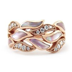 Details about Rose Gold leaves 925 Silver Women Jewelry Wedding Engagement Ring Gift Sz - Mysterious LLC Silver Jewelry, Fine Jewelry, Women Jewelry, 925 Silver, Silver Ring, Sterling Silver, Jewelry Rings, Opal Jewelry, Cheap Jewelry