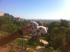 Funky Sunday: Doudous' Wurld Domination Project: Nina et Doudou chat à Barcelone