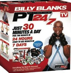 Tae Bo PT 24/7 Billy Blanks DVDs set including B2 Bands & Gloves: Amazon.co.uk: Sports & Outdoors