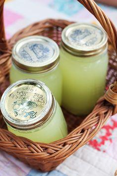Lemonade in jars...  #W4D #EatOutFestival #Picnic