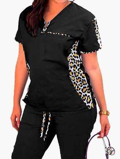 Cute Scrubs Uniform, Cute Nursing Scrubs, Scrubs Outfit, Medical Scrubs, Outfits, Clothes, Women, Style, Outdoor