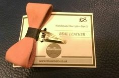 Check out this item in my Etsy shop https://www.etsy.com/uk/listing/205947539/leather-barrett-bow-to-turn-your-hair