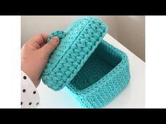 Crochet stitches tutorial cases new Ideas Crochet Scarf Easy, Crochet Case, Crochet Storage, Crochet Baby Beanie, Crochet Edging Patterns, Crochet Stitches, Crochet Vintage, Knit Basket, Crochet Decoration